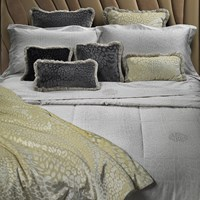 Roberto Cavalli Pantera Bed Set Ivory Cream