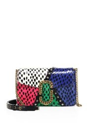 Marc Jacobs St. Snakeskin Python And Leather Clutch