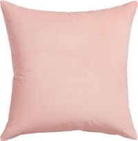 Cb2 Leisure Blush 23'' Pillow With Feather Insert