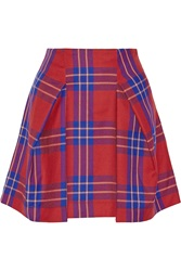 Vivienne Westwood Trail Tartan Wool Mini Skirt