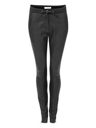 Aaiko Skinni Fit Pu Trousers Black