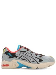 Asics Kayano 5 Og Mesh And Leather Sneakers Multicolor