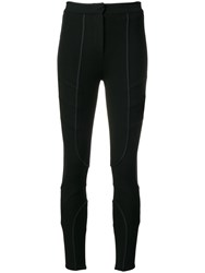 Fendi Skinny Fit Trousers Black