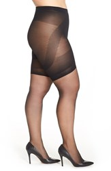 Plus Size Women's Berkshire 'Booster' Ultra Sheer Pantyhose