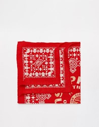 Polo Ralph Lauren Prl Bandana Red
