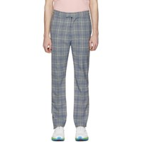 Band Of Outsiders Blue Tuxedo Trousers
