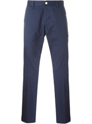 Hydrogen Chino Trousers Blue