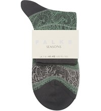 Falke Carnival Cotton Ankle Socks 7344 Neptune