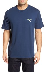 Tommy Bahama Fore Of A Kind Graphic T Shirt Navy