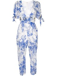 Alice Mccall Only Everything Jumpsuit White