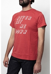 T Shirt Never Let Me Down Le Dixieme Arrondissement