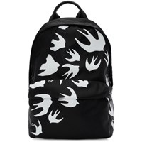 Mcq By Alexander Mcqueen Black Classic Swallow Backpack