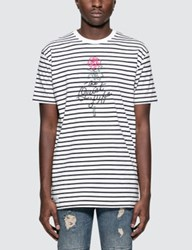 The Quiet Life Stripe Rose S S T Shirt