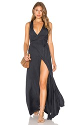 Gypsy 05 Wrap Maxi Dress Slate