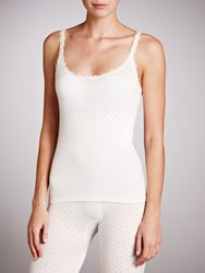 John Lewis Thermal Camisole Ivory