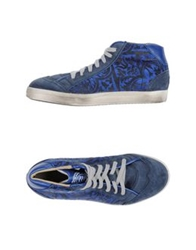 Primabase High Tops And Trainers Blue