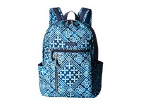 Vera Bradley Small Backpack Cuban Tiles Backpack Bags Blue