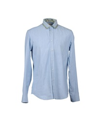 Coast Weber And Ahaus Long Sleeve Shirts Sky Blue