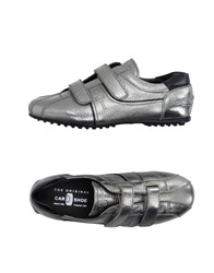 Car Shoe Carshoe Footwear Low Tops And Trainers Men Silver
