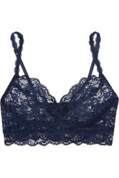 Cosabella Never Say Never Sweetie Stretch Lace Soft Cup Bra Navy