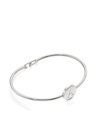 Sarah Chloe Silver Ella Bangle