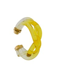 Marni Braided Bracelet Yellow