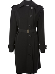 Lanvin Military Detail Shirt Dress Black
