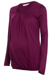 Bellybutton Rumena Long Sleeved Top Magenta Purple Berry