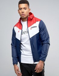 Ellesse Lightweight Jacket With Panelling Navy