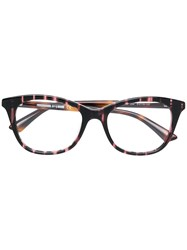 Mcq By Alexander Mcqueen Eyewear Square Frame Glasses Brown