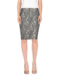 Pauw Skirts Knee Length Skirts Women Light Grey