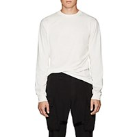Alyx Thorn Crown Cotton Long Sleeve T Shirt White