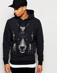 Supreme Being Supremebeing Hoodie With Bear Print Black