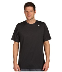 Nike Legend Dri Fit Poly S S Crew Top Anthracite Men's Short Sleeve Pullover Pewter