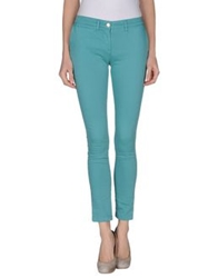 Roberta Scarpa Casual Pants Turquoise