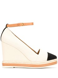 Tory Burch Canvas Wedged Espadrilles 60