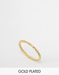 Dogeared Gold Plated Midi Love Sparkle Ring