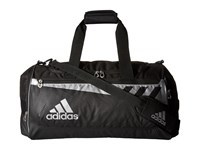 Adidas Team Issue Medium Duffel Black Silver Duffel Bags