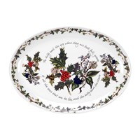 Portmeirion The Holly And The Ivy Oval Platter