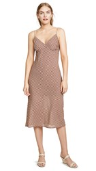 The Fifth Label Longitude Check Dress Toffee With Cream