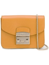 Furla 'Metropolis' Crossbody Bag Yellow Orange