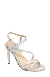 Imagine By Vince Camuto Women's Imagine Vince Camuto 'Gian' Strappy Sandal Platinum