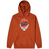 Patta Skull Hoody Orange