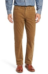 Cutter And Buck Men's Big Tall 'Greenwood' Stretch Corduroy Pants Frontier Tan