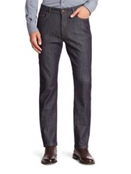 Ermenegildo Zegna Relaxed Fit Five Pocket Jeans Navy