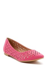 Restricted Newport Laser Cut Flat Pink