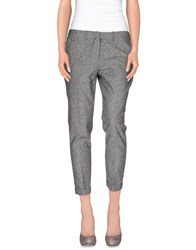Daniele Alessandrini Trousers 3 4 Length Trousers Women Grey