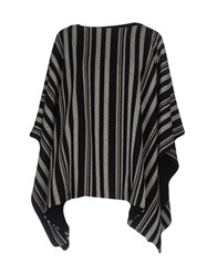 Carla G. Capes And Ponchos Black