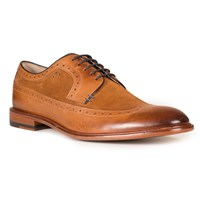 Oliver Sweeney Ossington High Shine Brogues Tan