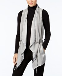 G.H. Bass And Co. Drawstring Draped Vest